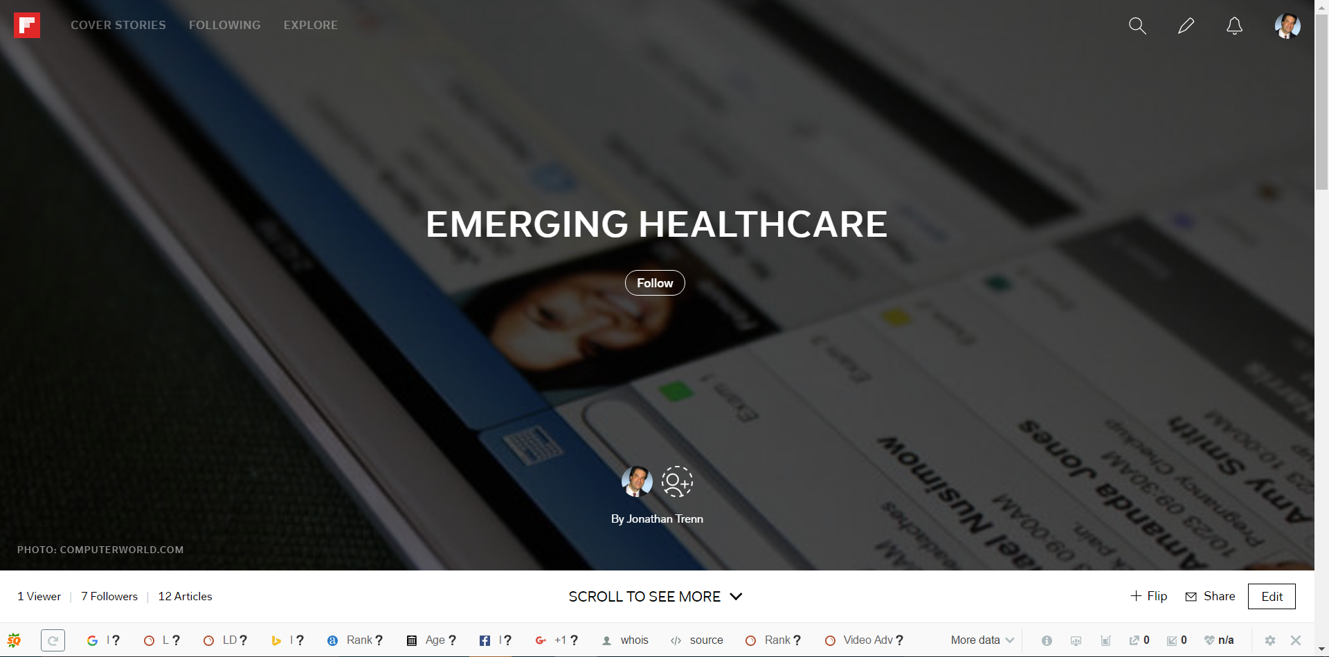 Emerging Healthcare